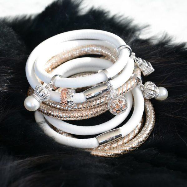 Monochrome Bracelet Layering
