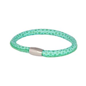 Turquoise Lizard Leather Bracelet
