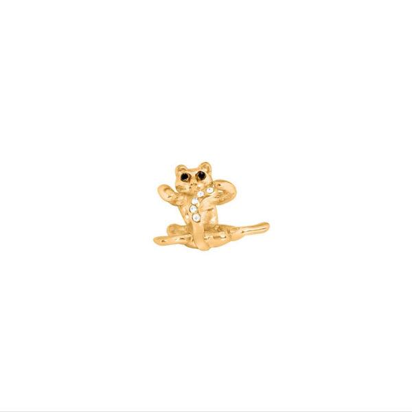 Gold Cat Charm