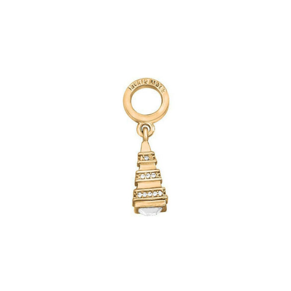 Gold Pyramid Charm