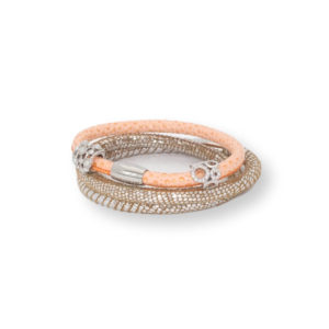 Malibu Infinity Charm Bracelet Stack