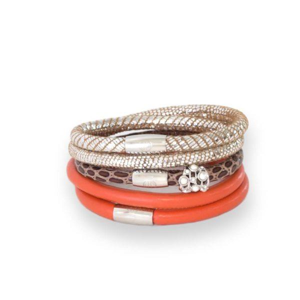 Sicily Charm Bracelet Stack