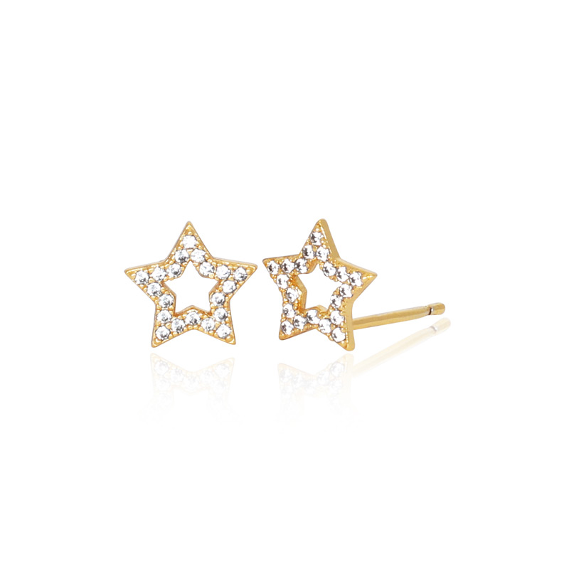 7519f6181 Shooting Star Studs | Earrings plated in 18k Gold | Jackie Mack  DesignsJackie Mack Designs